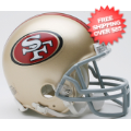 Helmets, Mini Helmets: San Francisco 49ers NFL Mini Football Helmet
