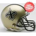 Helmets, Mini Helmets: New Orleans Saints NFL Mini Football Helmet