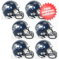 Helmets, Mini Helmets: Seattle Seahawks NFL Mini Football Helmet 6 count