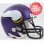 Minnesota Vikings NFL Mini Football Helmet <B>Matte Purple</B>