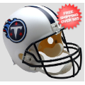 Helmets, Full Size Helmet: Tennessee Titans Full Size Replica Football Helmet