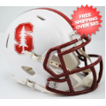 Helmets, Mini Helmets: Stanford Cardinal NCAA Mini Speed Football Helmet <B>Chrome Decal NEW 2015<...
