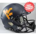 Helmets, Full Size Helmet: West Virginia Mountaineers Speed Replica Football Helmet