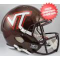 Helmets, Full Size Helmet: Virginia Tech Hokies Speed Replica Football Helmet