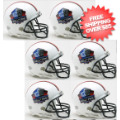 Helmets, Mini Helmets: NFL Hall of Fame NFL Mini Football Helmet 6 count