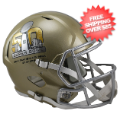 Helmets, Full Size Helmet: Super Bowl 50 Speed Replica Football Helmet