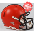 Helmets, Mini Helmets: Cleveland Browns NFL Mini Speed Football Helmet <B>NEW 2015</B>