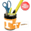 Tennessee Volunteers Small Desk Caddy