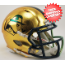 Notre Dame Fighting Irish NCAA Mini Football Helmet <B>2015 HydroSkin Boston</B>