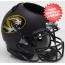 Missouri Tigers Miniature Football Helmet Desk Caddy <B>Matte Black Alt 3</B>