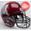 Wisconsin Badgers Full XP Replica Football Helmet Schutt <B>Red Black Mask</B>