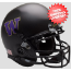 Washington Huskies Mini XP Authentic Helmet Schutt <B>Matte Black</B>
