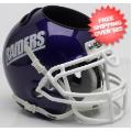 Office Accessories, Desk Items: Mount Union Purple Raiders Miniature Football Helmet Desk Caddy