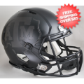 Helmets, Mini Helmets: Texas A&M Aggies NCAA Mini Speed Football Helmet <B>2015 Matte Black</B>