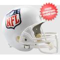 Helmets, Full Size Helmet: NFL Shield Logo Full Size Replica Football Helmet