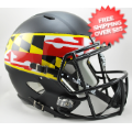 Helmets, Full Size Helmet: Maryland Terrapins Speed Replica Football Helmet