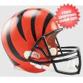 Helmets, Full Size Helmet: Cincinnati Bengals Full Size Replica Football Helmet