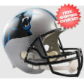 Helmets, Full Size Helmet: Carolina Panthers Full Size Replica Football Helmet
