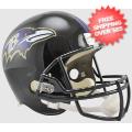 Helmets, Full Size Helmet: Baltimore Ravens Full Size Replica Football Helmet
