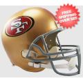Helmets, Full Size Helmet: San Francisco 49ers Full Size Replica Football Helmet