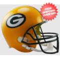 Helmets, Full Size Helmet: Green Bay Packers Full Size Replica Football Helmet