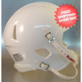 Helmets, Blank Mini Helmets: Mini Speed Football Helmet SHELL White