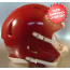 Mini Speed Football Helmet SHELL Cardinal