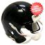 Bulk Mini Speed Football Helmet SHELL Black Qty 24