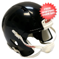Helmets, Blank Mini Helmets: Mini Speed Football Helmet SHELL Black