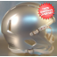 Mini Speed Football Helmet SHELL Extra Bright Silver