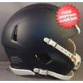Helmets, Blank Mini Helmets: Mini Speed Football Helmet SHELL Matte Navy
