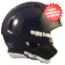 Bulk Mini Speed Football Helmet SHELL Navy Blue Qty 24