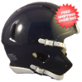 Helmets, Blank Mini Helmets: Mini Speed Football Helmet SHELL Navy Blue