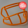 Helmets, Blank Mini Helmets: Mini Speed Z2BD Facemask Green Bay Gold