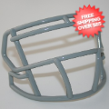 Helmets, Blank Mini Helmets: Mini Speed Z2BD Facemask Light Gray