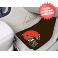 Car Accessories, Detailing: Cleveland Browns Car Mats 2 Piece