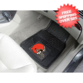 Car Accessories, Detailing: Cleveland Browns Vinyl Car Mats