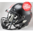 Ohio State Buckeyes Speed Replica Football Helmet <B>Satin Black with Red Buckeyes</B>