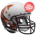 Helmets, Full Size Helmet: Virginia Tech Hokies Full XP Replica Football Helmet Schutt <B>New 2015</B>