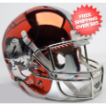 Helmets, Full Size Helmet: Oklahoma State Cowboys Full XP Replica Football Helmet Schutt <B>Chrome</B>
