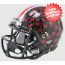 Ohio State Buckeyes NCAA Mini Speed Football Helmet <B>Satin Black</B>