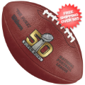 Collectibles, Footballs: Super Bowl 50 Football Broncos vs Panthers