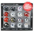 Helmets, Pocket Pro Helmets: NFL Speed Pocket Pro Helmets AFC Set Riddell