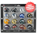 Helmets, Pocket Pro Helmets: NFL Speed Pocket Pro Helmets NFC Set Riddell