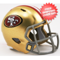 Helmets, Pocket Pro Helmets: San Francisco 49ers Speed Pocket Pro