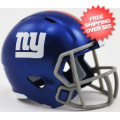 Helmets, Pocket Pro Helmets: New York Giants Speed Pocket Pro