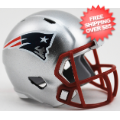 Helmets, Pocket Pro Helmets: New England Patriots Speed Pocket Pro
