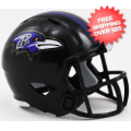 Helmets, Pocket Pro Helmets: Baltimore Ravens Speed Pocket Pro