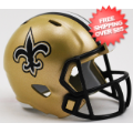 Helmets, Pocket Pro Helmets: New Orleans Saints Speed Pocket Pro