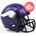 Helmets, Pocket Pro Helmets: Minnesota Vikings Speed Pocket Pro